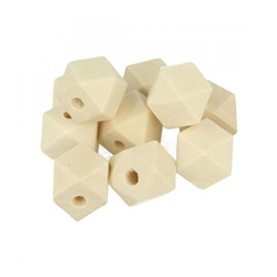 Perle polygonale 15mm 10 pcs