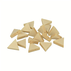 Perle triangle 17x20mm 20pcs