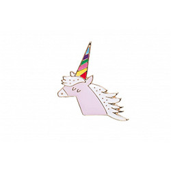 Pin's licorne multicolore