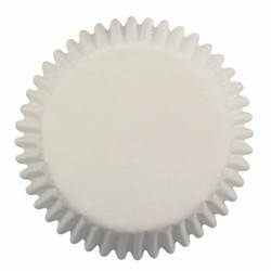 Pme baking cups white pk/60