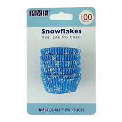 Pme mini baking cups snowflakes pk/100