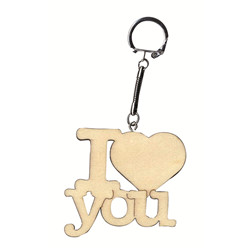 Porte-clés « I love you »  6,5 cm