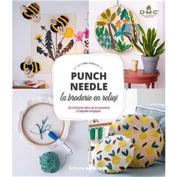 Punch Needle la broderie en relief