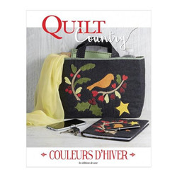 Quilt country couleurs d'hiver