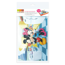 "Rectangle azyme "" mickey & minnie"""
