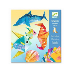 Set d'origami animaux marins