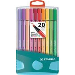 Set de 20 feutres pen 68 colorparade