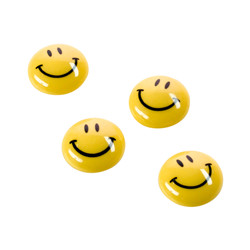 Set de 6 magnets Smiley