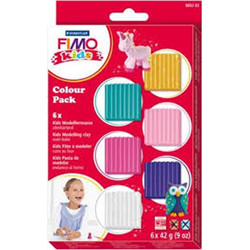 Set de 6 pains de Fimo Kids – Girly