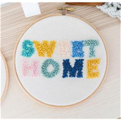 Set de broderie – « Sweet home »