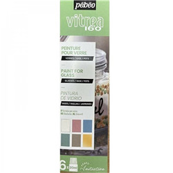 "Set Initiation pastel ""Vitrea160"" 6x20ml"
