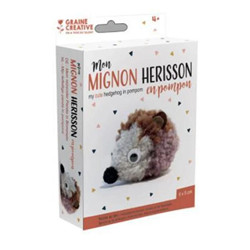 Set pompons – hérisson