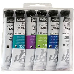 Set studio acryl iridescent 6x20ml