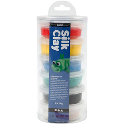 Silk clay - assortiment, 6x14g