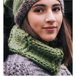 Snood Dame Love wool 28