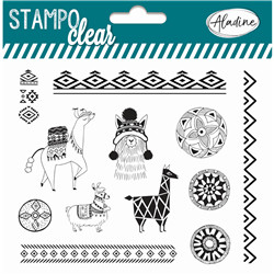 Stampo Clear Ethnic Lama