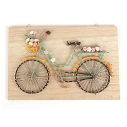 Tableau velo string art rectangle