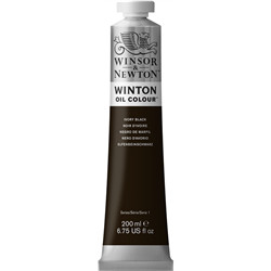 W&n 200ml ivory black 24